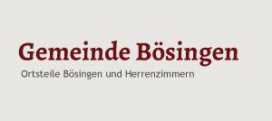 Logo der Gemeinde Bösingen