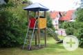 Spielplatz-Laubteile