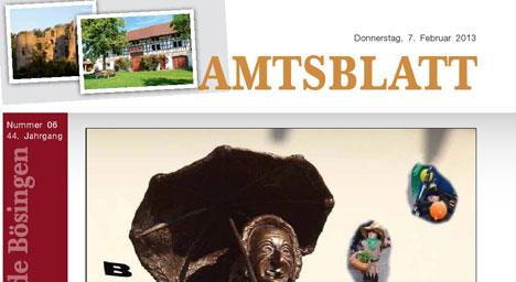 Amtsblatt 2013